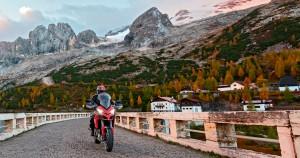 Inizia la Ducati Multistrada Experience con il Winter Tour