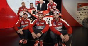Presentato il Ducati Team 2016